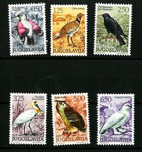 Yugoslavia  BIRDS  Good set stamps  MNH**  (529)