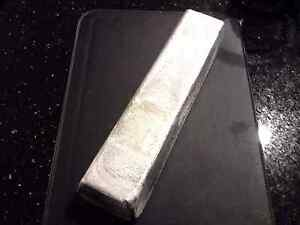ALUMINUM BAR -INGOT 2 POUND +/- 95 % PURE- 2 LBs. NOT STAMPED-CAST- MADE IN USA