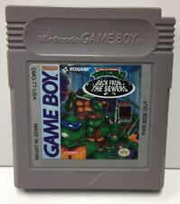 TMNT Back from Sewers Nintendo Game Boy Cart Only Authentic Gameboy Mutant Ninja