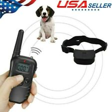 New listing Dog Shock Collar Training Bark E-Collar Electric Remote For Small Large Big Dogs