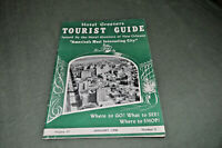 Vintage 1948 NEW ORLEANS LOUISIANA Hotel Greeters Tourist Guide Restaurants JAX!
