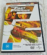 THE FAST AND THE FURIOUS – SUPERCHARGED EDITION – DVD R 2+4 LIKE NEW, FREE POST