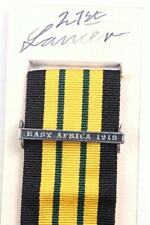 EDVII AGSM AFRICA GENERAL SERVICE MEDAL CLASP or RIBBON BAR EASE africa 1918