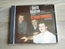 jazz CD piano BRITISH uk swing *SIGNED* THE DAVID NEWTON TRIO In Good Company