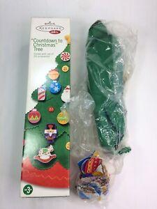 2004 Hallmark Keepsake Kids Countdown to Christmas Tree 25 Ornaments No Music