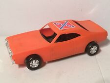 1980 MEGO Dukes of Hazzard General Lee Dodge Charger Toy Action Figure Car 3 3/4