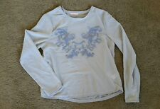Hot Options sheer embroidered top sz14 BNWOT free post D15