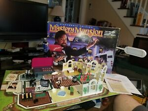 Electronic Talking Mystery Mansion Vintage 1995 Board Game WORKS incomplete.