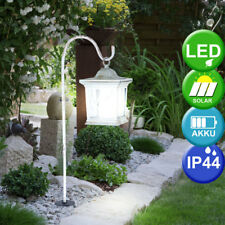 LED Solar Deko Laterne Friedhof Grab Beleuchtung Garten Lampe wei�Ÿ Big Light