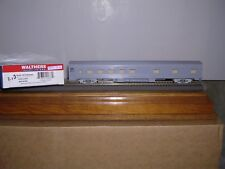 WALTHERS #6340  Undecorated Budd Streamlined Lightweight 10-6 Sleeper H.O. 1/87