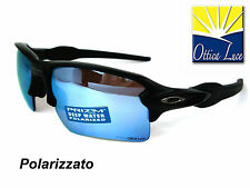 OAKLEY FLAK 2.0 XL 9188 58 BLACK PRIZM DEEP POLAR Pesca Sunglass Sonnenbrille