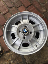 "NEW BMW OEM WHEEL 2002TII 2002 1969-1976 13"" ALLOY WITH NEW HUB CAPS"