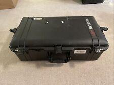 Black Pelican 1615 Air case w/ used foam & wheels