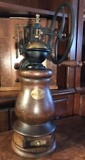 Vintage Benjamin & Medwin, Inc. NY Wood & Brass Coffee Grinder Italy SPECIAL!