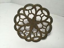 "Furniture Hardware Knobs Vintage Drawer Brass, 3 1/4"" Across"