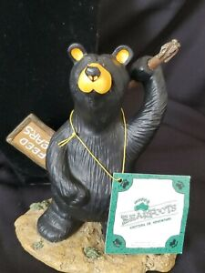 Bearfoots Bears Jeff Fleming Don`t Feed The Bears Big Sky Carvers 0101/14232