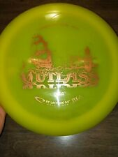 Latitude 64 Opto Line Cutlass 172g yellow golf disc gold pirate stamp
