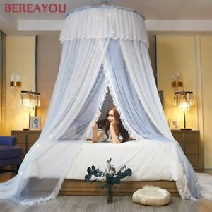 ROUND MOSQUITO DOUBLE LAYER NET Bed Canopy Princess Home Bedding Tent Room Deco