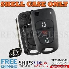For 2010 2011 2012 2013 Kia Soul Key Fob Shell Case Cover NYOSEKSAM11ATX