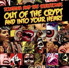 Zombina and the Skeletones out of the Crypt and into your heart-CD