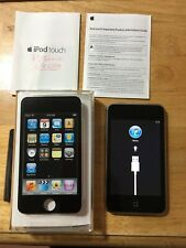 Apple iPod Touch 2nd Gen 8GB Black MP3 Music Player A1288 With Wifi TESTED w/Box