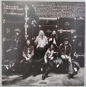 The Allman Brothers Band - At Fillmore East USA DOUBLE LP