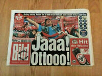 1.FC Kaiserslautern DEUTSCHER MEISTER 1998 BILDZEITUNG vom 4.5.1998 das Wunder!