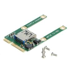 Mini PCI-E to USB 3.0 Male HUB PCI Express Expansion Card Adapter for Notebook