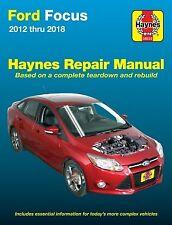 2012 - 2018 Ford Focus Haynes Repair Service Workshop Manual Book Guide 3483