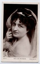 Lilian Braithwaite - Actress vintage photo portrait Rotary Photographic Postcard