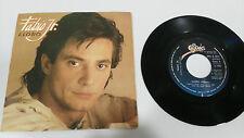 """FABIO JR. LLORO CANTA EN ESPAÑOL 1984 SINGLE 7"""" VINILO VINYL SPANISH EDIT"""