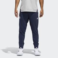 adidas Dame Never Doubt Pants Men's Damian Lillard Legend Ink White Sportswear
