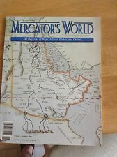Mercator's World The Magazine of Maps, Atlases, Globes, Charts vol.1 no.6