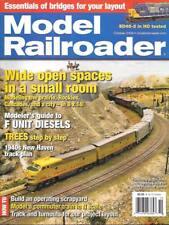 Model Railroader Oct.2006 Dioramas Bridge Narrow Gauge F Units Diesel New Haven