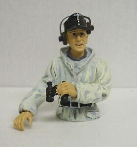 Tank Commander Armed Forces Winter, half Figure, Ready, Torro, 1:16, New