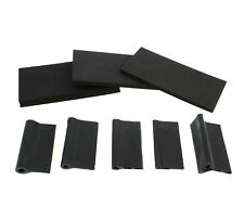 DCT Wood Contour Flexible Rubber and Foam Sponge Detail Sanding Grip Pad 8-Pack