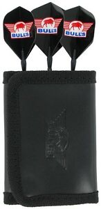BULLS Trifold Deluxe Leather Darts Case Wallet