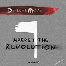 DEPECHE MODE CD Where's The Revolution 5 x REMIXES Autolux / Pearson / Algiers