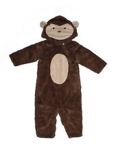 Toddler Girl Boy Pottery Barn Kids Brown Monkey Costume Size 12/24  Months
