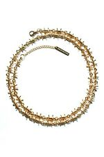 Barbed Wire Necklace Chain Gold Streetwear Jewelry