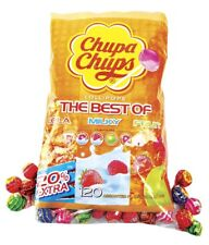 Chupa Chups Standard Size The Best of Flavours Lollies Retro Sweets - 100 10