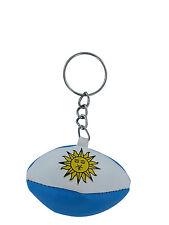 Schlüsselanhänger keyring flagge fahne flaggen RUGBY BALL ARGENTINIEN ARGENTINA