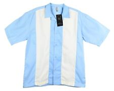 Mato & Hash Mens Short Sleeve Camp Shirt Retro Bowling NWT S-4XL