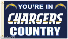Los Angeles Chargers Huge 3'x5' Nfl Licensed Country Flag