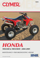 CLYMER Repair Manual Honda TRX 450R 450ER 2004-2009 M201