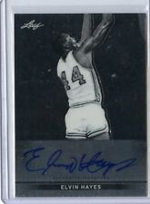 2013 LEAF #BA-EH1 ELVIN HAYES AUTOGRAPH AUTO - HOUSTON ROCKETS, BULLETS 021214