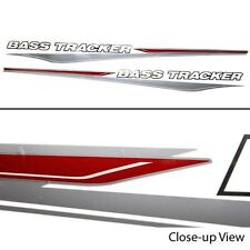 TRACKER BASS 87 INCH PORT AND STBD BOAT DECAL SET