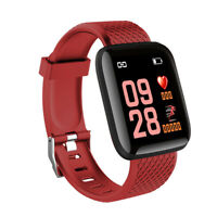 Único Reloj Fitness M3 Frecuncia Cardíaca Impermeable Pantalla Color IOS Android