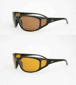 Fortis Eyewear Wraps Polarised Switch Bifical Fishing Sunglasses