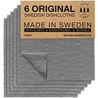 SUPERSCANDI Swedish Dishcloths Eco Friendly Reusable Sustainable Biodegradable 6